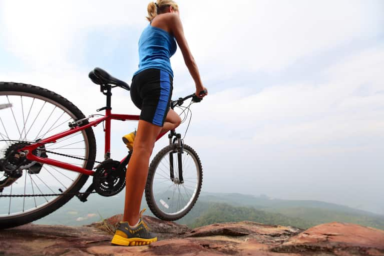 I Tried Mountain Biking & It Totally Changed My Outlook