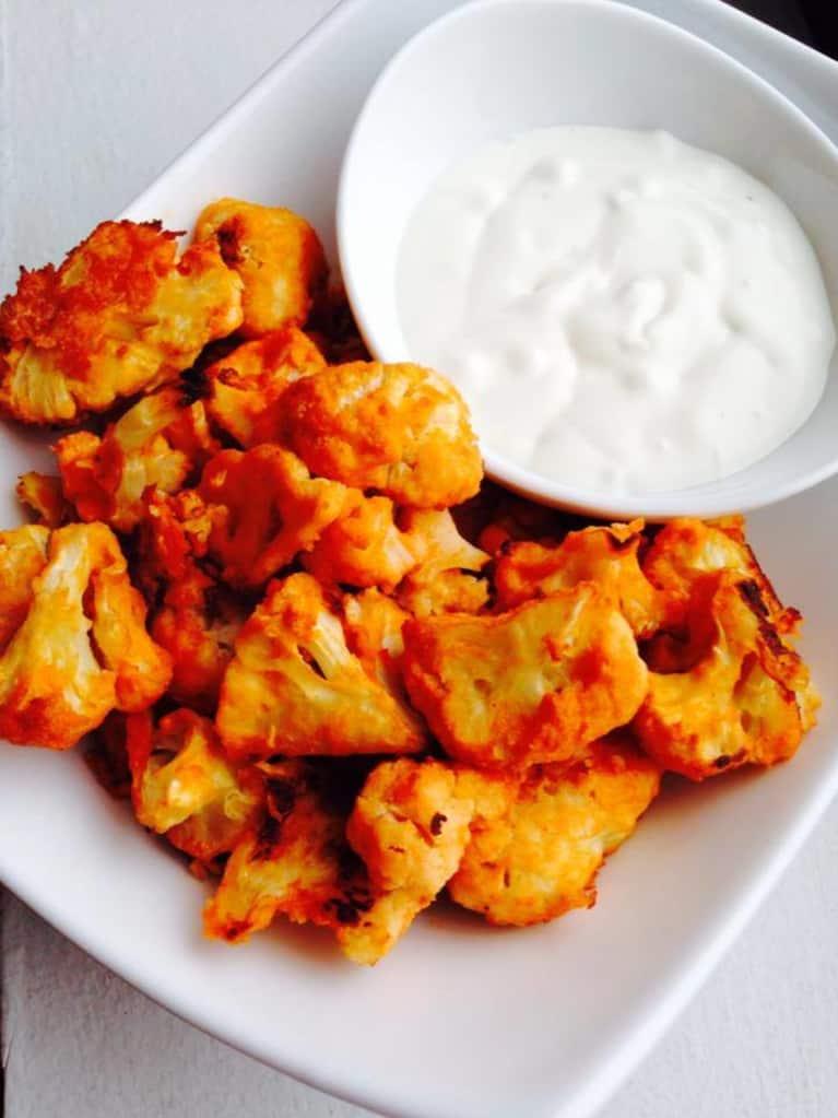 Crispy Cauliflower Buffalo Wings (Gluten-Free!)