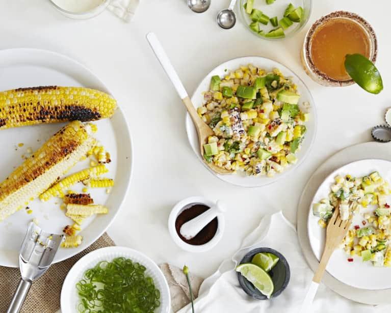 ¡Esquites! Healthy Mexican Street Corn Salad