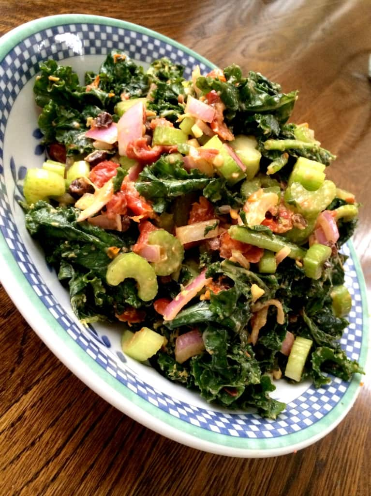 Kale Salad With A Kick