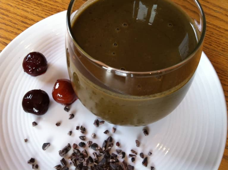 Fall In Love With This Chocolate-Covered Cherry Smoothie