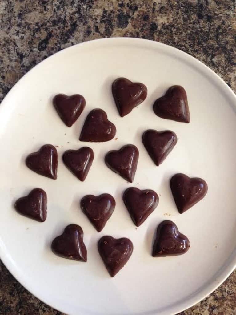 Easy Vegan Chocolates With Orange Zest