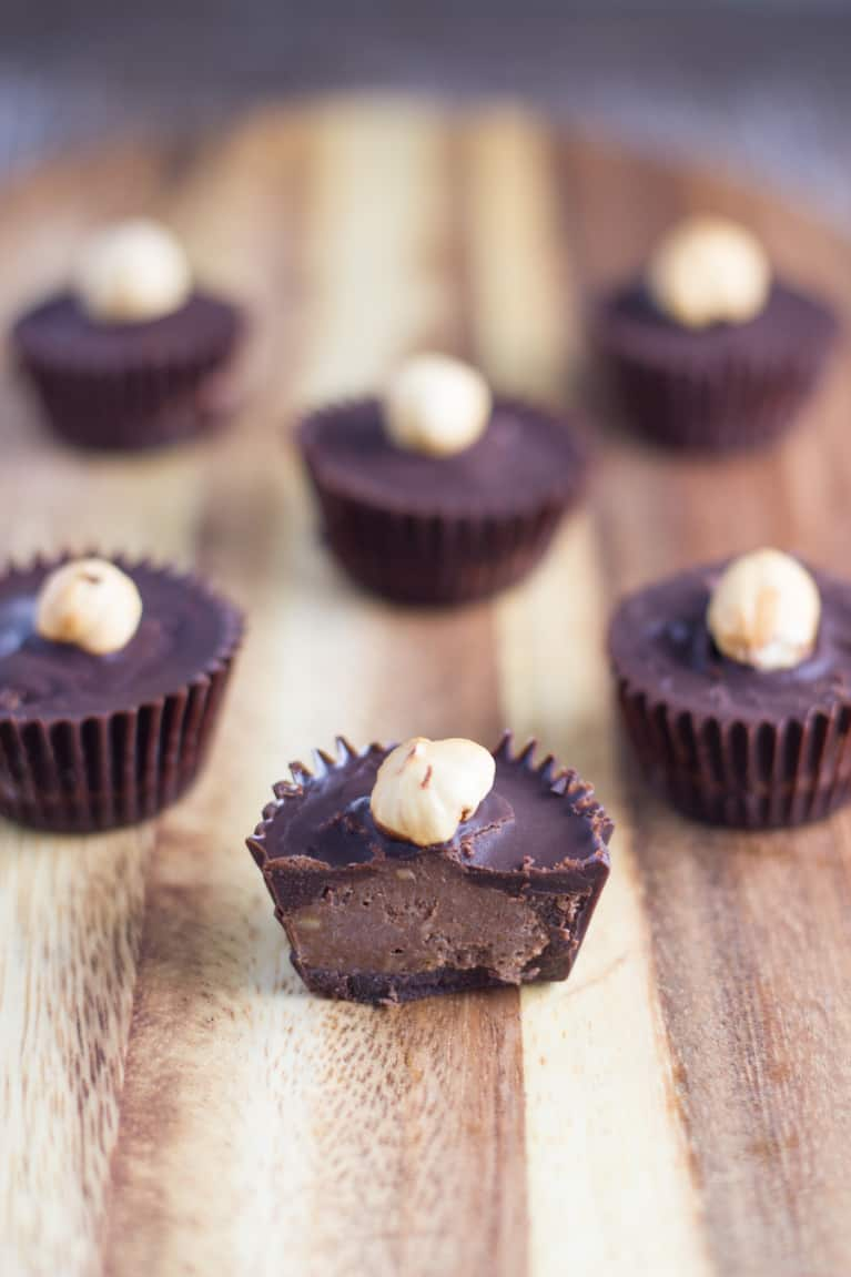 Like Nutella? Try These Vegan Hazelnut Cups