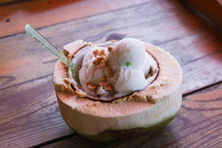 Raw Recipe: Coconut Chocolate Chip Ice Cream