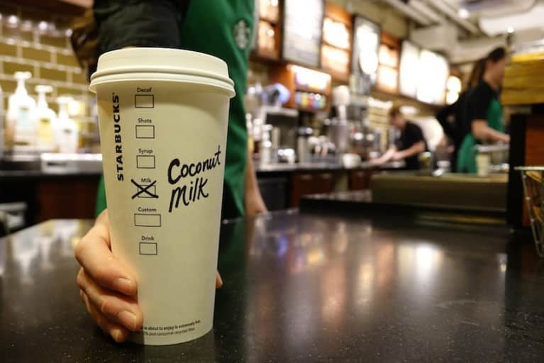 Starbucks Will Start Offering Coconut Milk Nationwide This Month