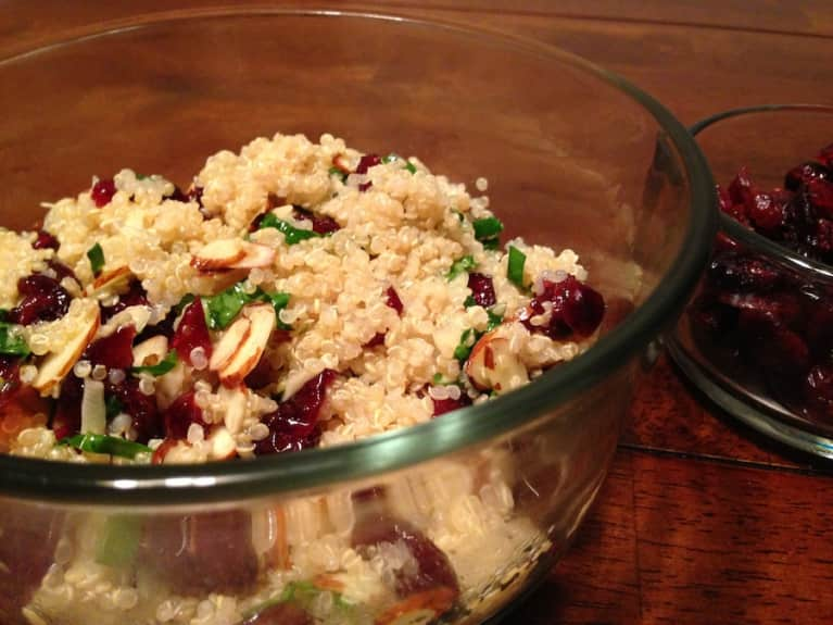 Hearty & Healthy Cranberry Quinoa Salad