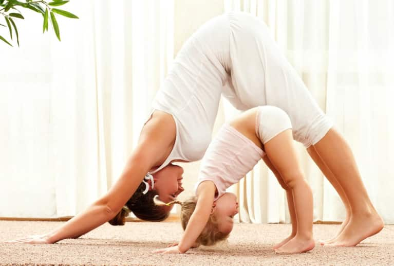5 Reasons Yoga Makes You A Better Parent