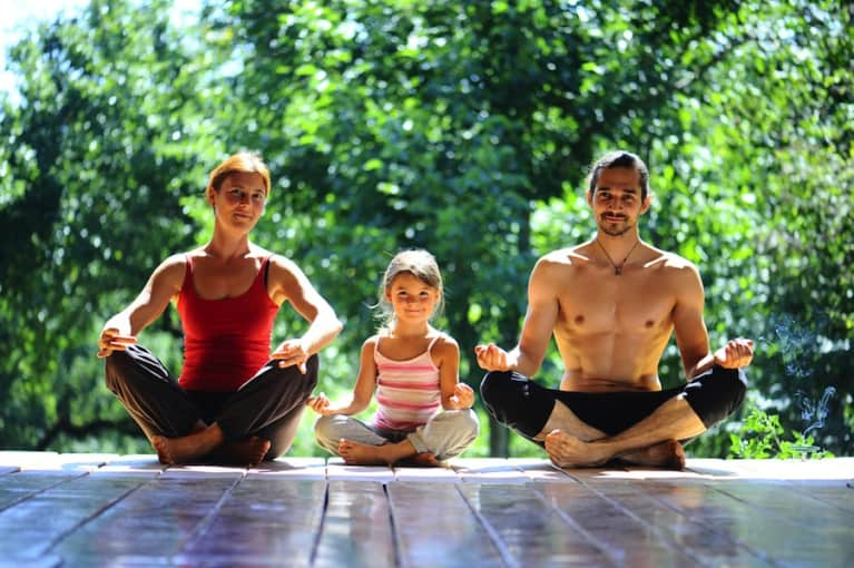 How Yoga Made Me A Better Parent