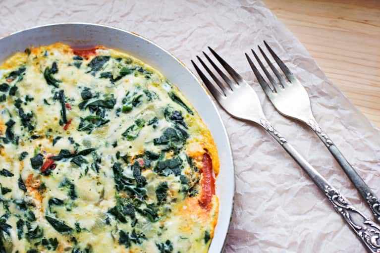Day-After-Thanksgiving Frittata!