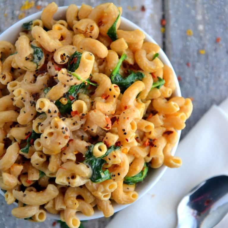 Vegetarian Recipe: Savory Marjoram Mac-N-Cheese
