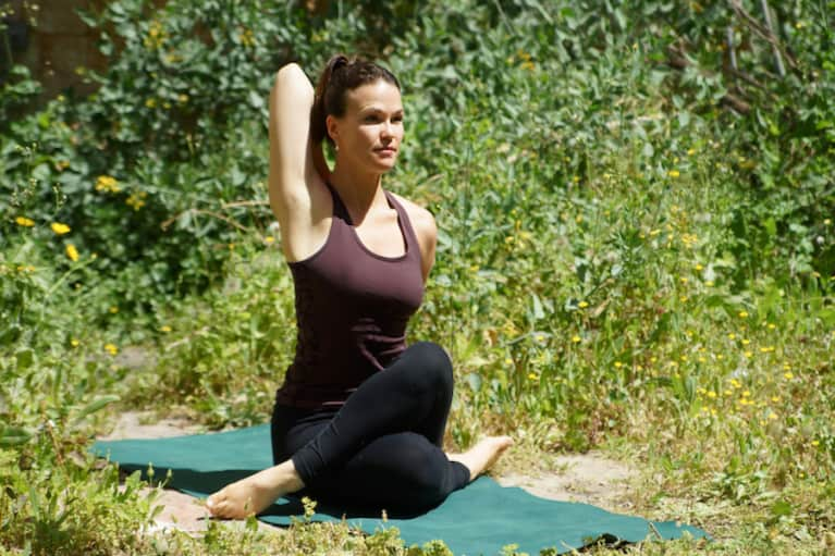 5 Yoga Poses To Open & Tone Your Shoulders