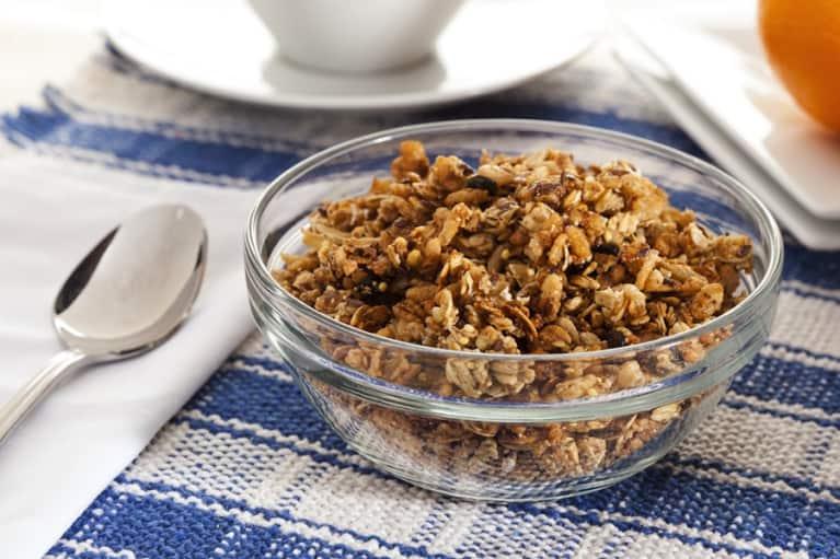 Gluten-Free Maple Granola