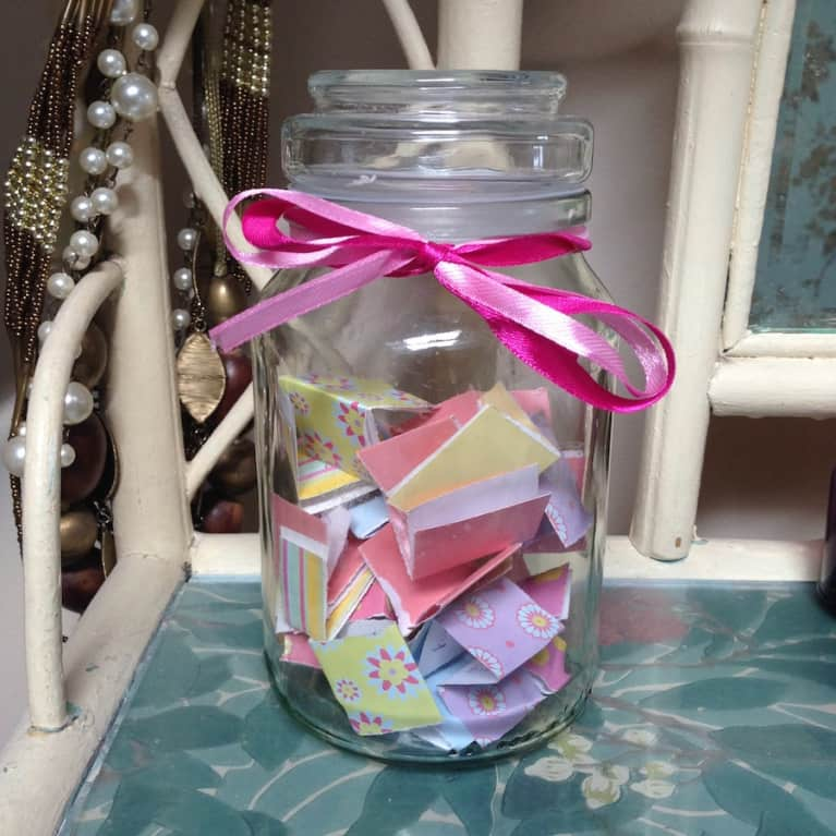 Gratitude Jars Can Quickly Brighten The Mood How To Make One