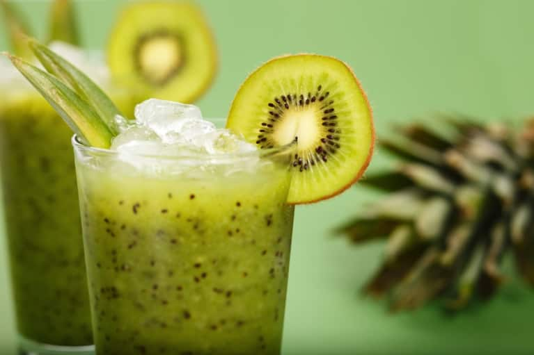 Brain-Boosting Green Tea & Kiwi Smoothie