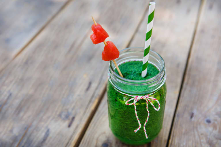 A Green Smoothie To Power You Through The Day