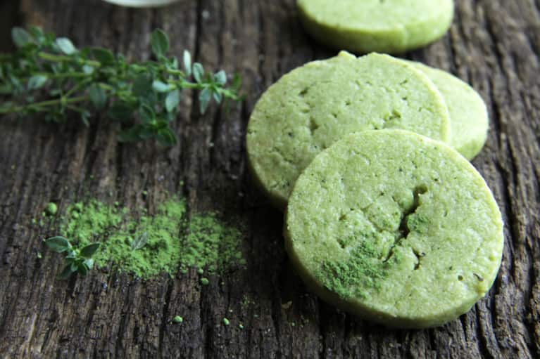 Decadent Green Tea Mint Meltaways (Vegan, Gluten-Free!)