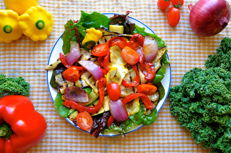 The Ultimate BBQ Salad (No Meat Necessary!)