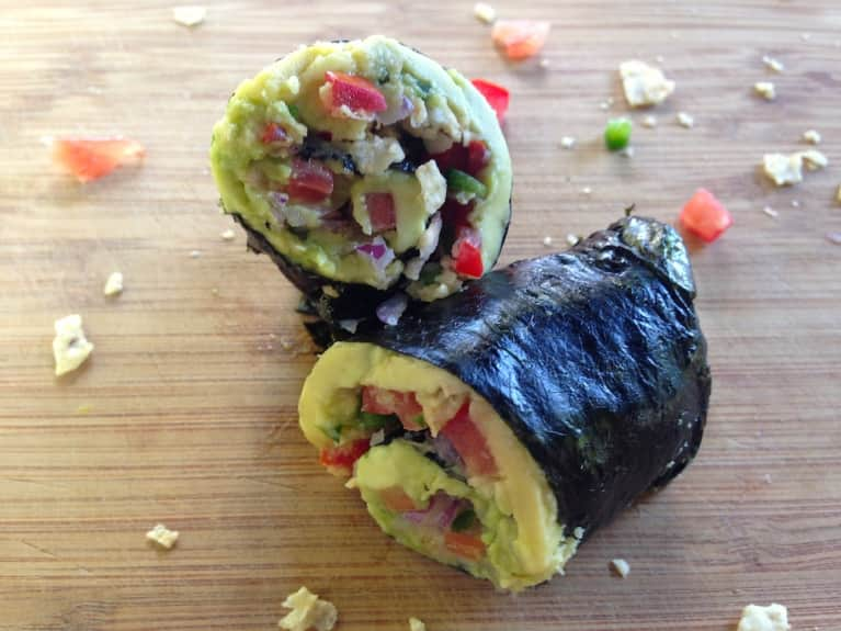 Holy Guacamole! Mexican-Inspired Nori Rolls