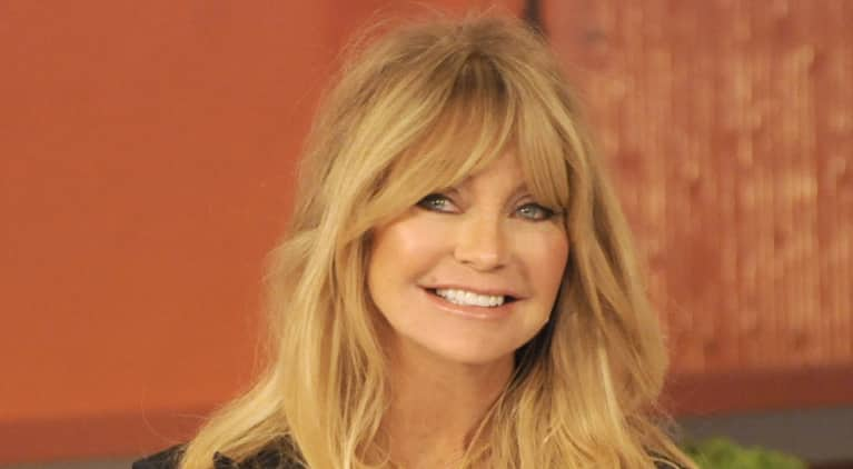 Goldie Hawn's 5 Simple Tips To Get (And Stay) Happy