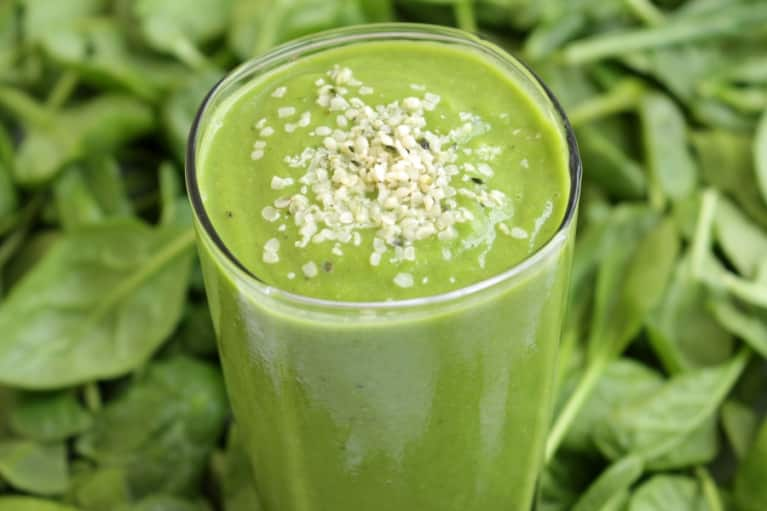 The Ultimate Anti-Hangover Green Smoothie