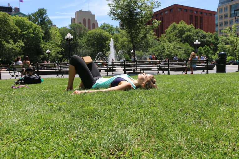 A Yoga Exercise To Ease Hip & Back Pain