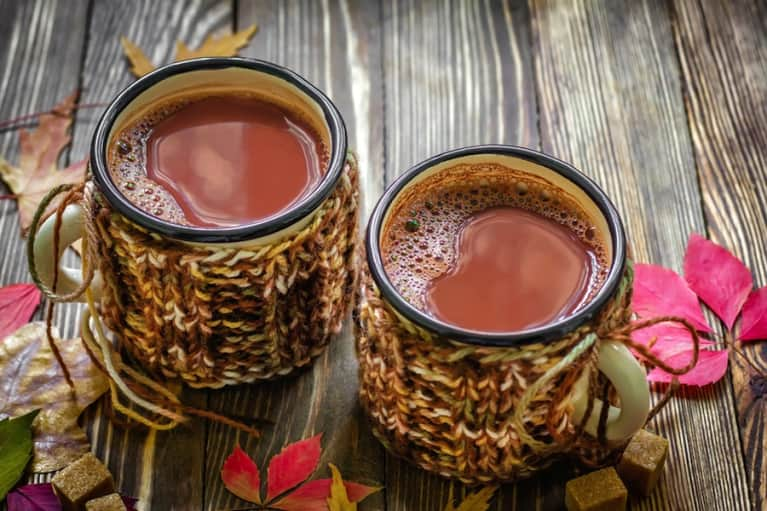 A Hot Cocoa That's Exploding With Superfoods!