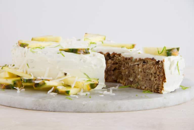 Coconut, Pineapple + Banana Cake (Wheat & Dairy-Free)