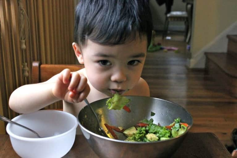 "How I ""Tricked"" My 2-Year-Old Into Loving Veggies"