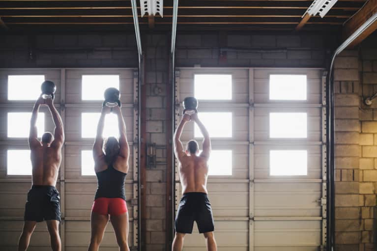10 Kettlebell Moves For A Total-Body Workout (Video)