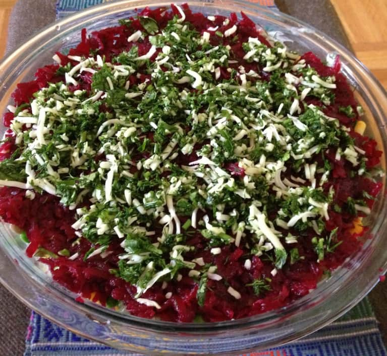 Vegetarian Recipe: Bonkers Beet Salad