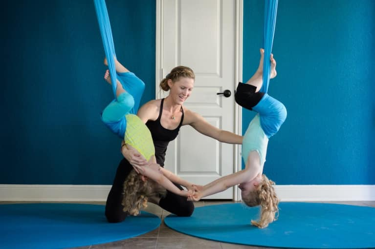 6 Ways Aerial Yoga Uplifts Your Body & Soul