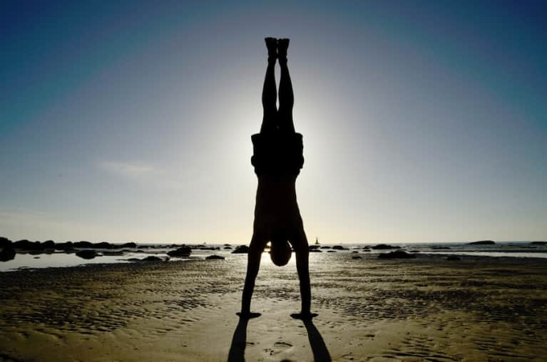 How Anyone Can Learn To Do A Handstand