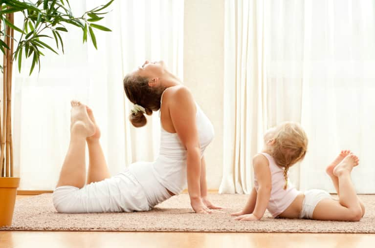 How To Get Back Into Yoga After Having A Baby