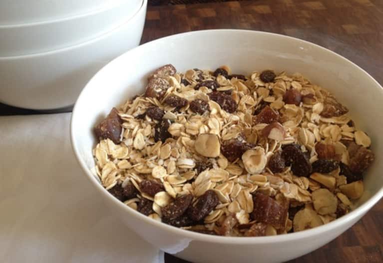 Gluten-Free Recipe: Toasted Hazelnut & Coconut Muesli