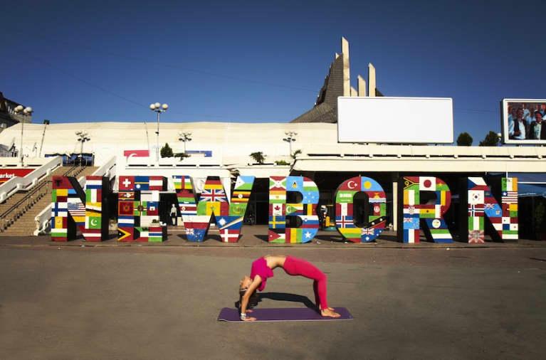 Yoga In Kosovo (Gorgeous Slideshow)