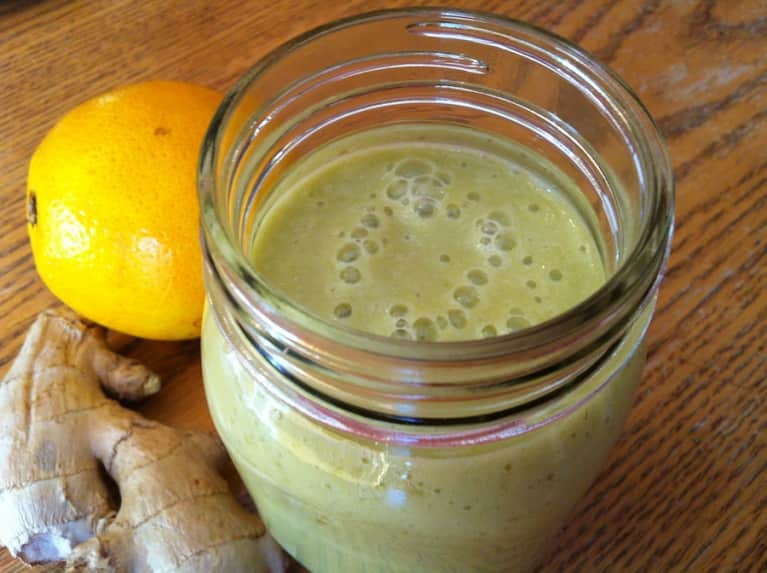 An Orange-Ginger Smoothie To Help Fight Cold & Flu