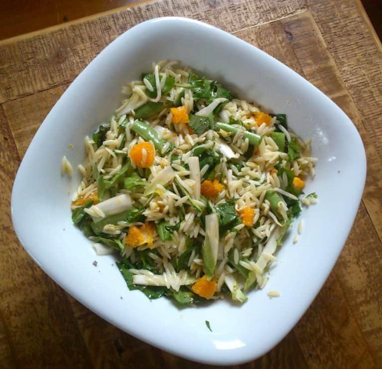 Zesty Orzo & Orange Salad