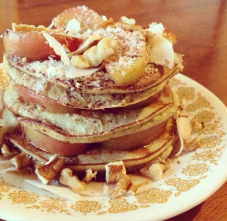 Gluten-Free Recipe: Apple & Coconut Pancakes
