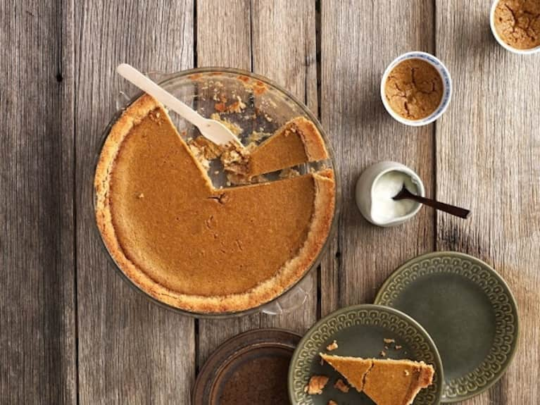 Sugar- & Gluten-Free Pumpkin Pie