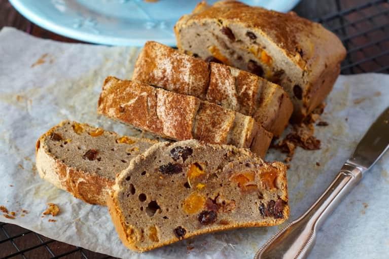 Grain-Free Cinnamon-Raisin Bread