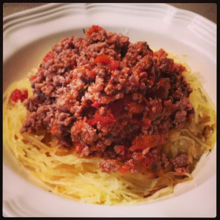 Old-Fashioned Paleo Spaghetti