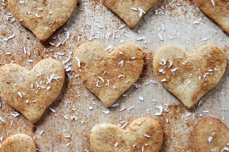 Vegan & Gluten-Free Peanut Butter Love Cookies
