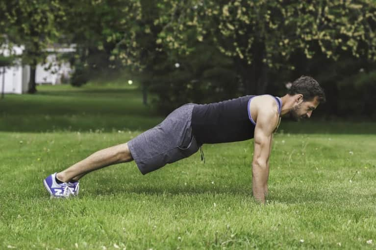 A 3-Minute Plank Challenge You Can Do Anywhere