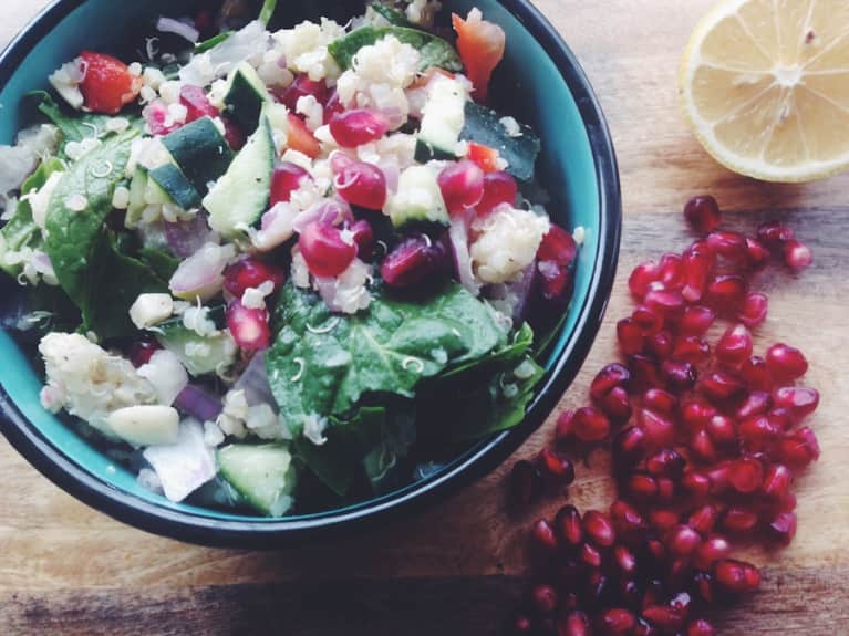 15-Minute Meal: Pomegranate Quinoa Salad