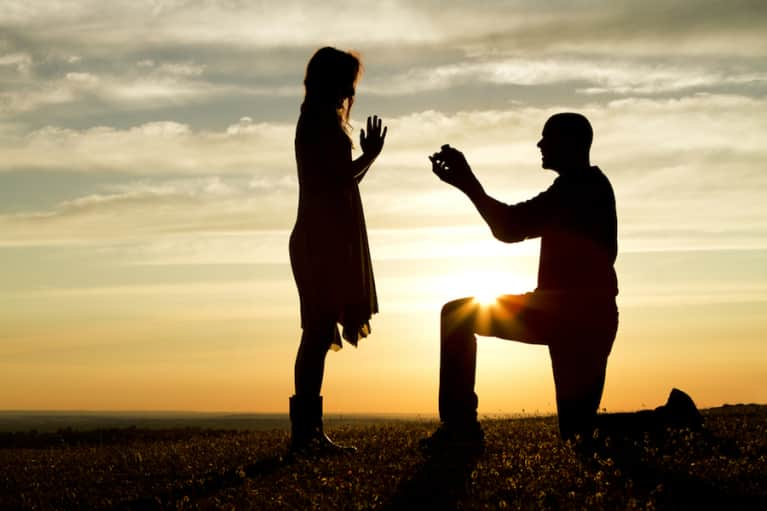 Watch This Heartwarming Video Of A Surprise Proposal At A Yoga Retreat