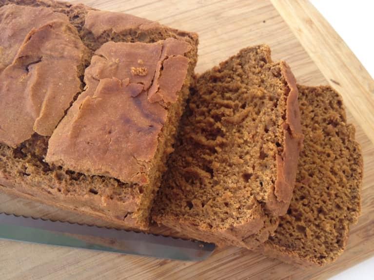 Gluten-Free & Vegan Pumpkin Spice Bread