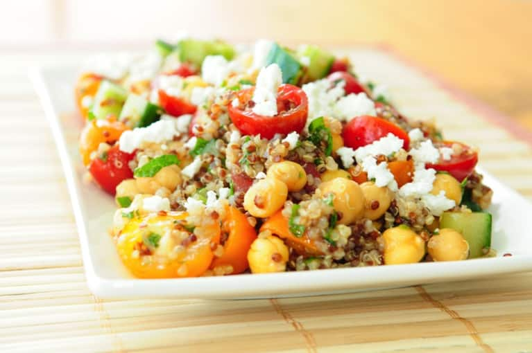 Gluten-Free Recipe: Mediterranean Summer Quinoa Salad