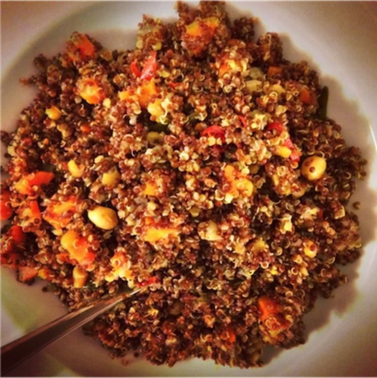 Spice Up Your Quinoa, South-Indian Style!