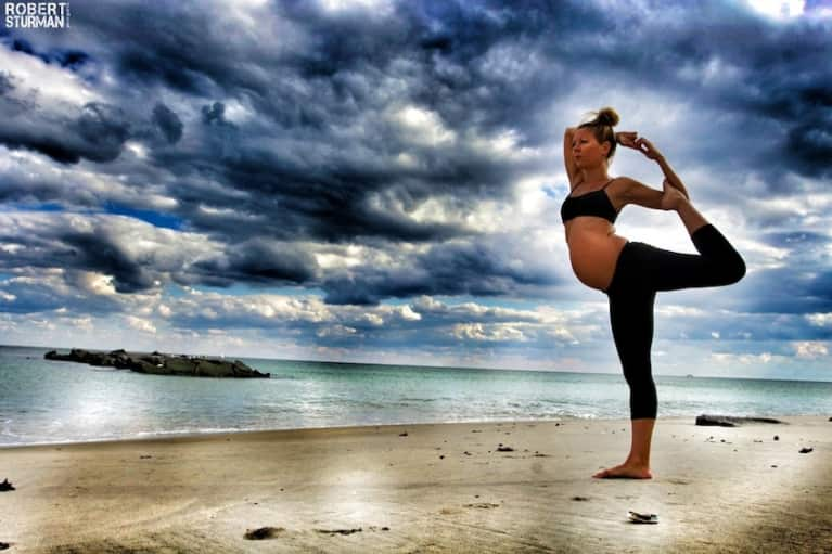 Who Says You Can't Practice Yoga Pregnant?! (Amazing Slideshow)