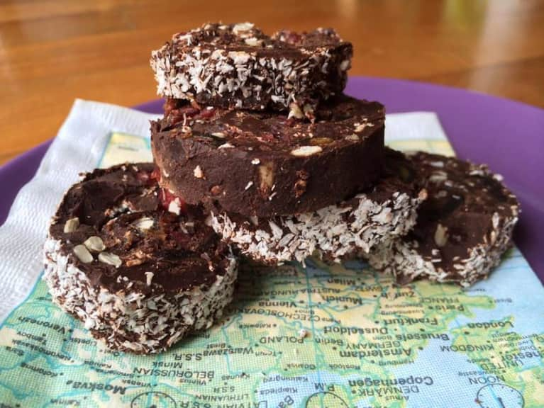 Raw Chocolate Treats (Your New Favorite On-The-Go Snack!)